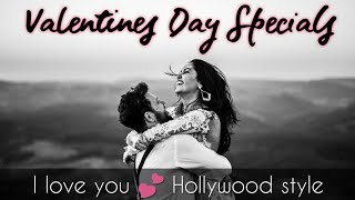 Valentines day Specials - I love you   Hollywood Style