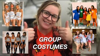 31 GROUP HALLOWEEN COSTUME IDEAS