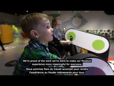 Accessibility at the Canada Science and Technology Museum
