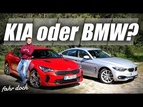20.000€ Unterschied? BMW 440i Xdrive GC vs KIA Stinger GT | DUELL DER POWER GT´s  | Fahr doch