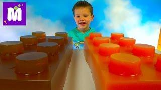 Огромные желейные Лего Мега блоки делаем сами