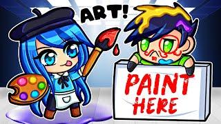 My first day as a SECRET ARTIST!