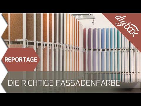 Die Wahl der richtigen Fassadenfarbe - Fassadengestaltung leicht gemacht