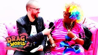 GOGGLEBOX Star Sandra at Drag World 2018 | Interview