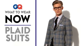 How to Wear a Plaid Suit – What to Wear Now | Style Guide | GQ