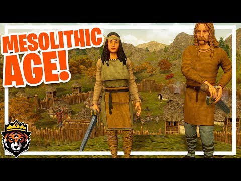 INTO THE MESOLITHIC AGE! (Dawn of Man Gameplay Ep 4)