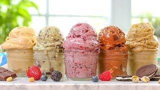 "5 EASY Vegan ""Ice Cream"" Recipes | Dairy Free Summer Desserts"