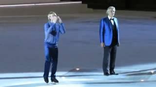 Intimissimi on Ice 2017 - Andrea Bocelli & Evgeni Plushenko - Aeolus