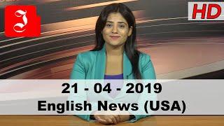 News English USA 21st April 2019