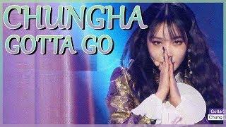 [Comeback Stage] Chung Ha -  Gotta Go, 청하 - 벌써 12시 show Music core 20190105