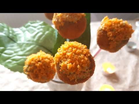 Healthy Chicken Pops | With Homemade Food dye | Appetizer Recipes | Toddler Recipes