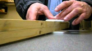 Bending square angles with 6mm Depron foam and heat gun
