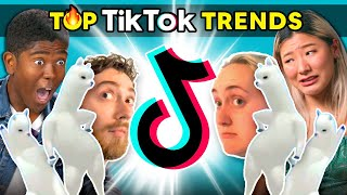 Teens React To Top TikTok Trends Of July 2020 (Miel Pops, Chinese Street Fashion, Not The One)