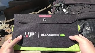 All Powers 18W Solar Charger Review