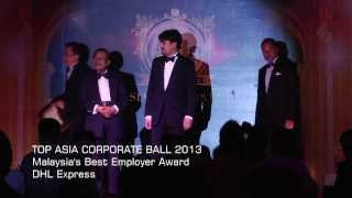 Top Asia Corporate Ball 2013 - DHL Express