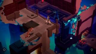 "Lara Croft GO Walkthrough The Mirror of Spirits Level 8 ""The Ballroom"""