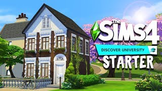 Student Starter 📚 || The Sims 4 Discover University: Speed Build