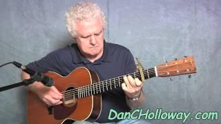 Pencil Thin Mustache - Acoustic Fingerstyle Guitar Arrangement - Jimmy Buffett