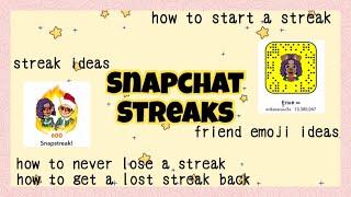 Snapchat Streaks For Beginners 2019 🔥 | How to Do Streaks on Snapchat, etc.