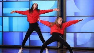 Young Dancers Taylor and Reese Hatala Light Up the Stage - Video Youtube
