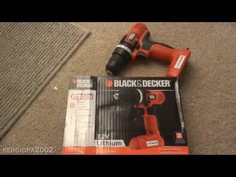Comentarios y revision del taladro destornillador Black & Decker LDX172C