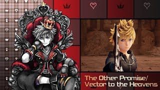 KINGDOM HEARTS 3 - The Other Promise/Vector to the Heavens - Battle & Music Montage