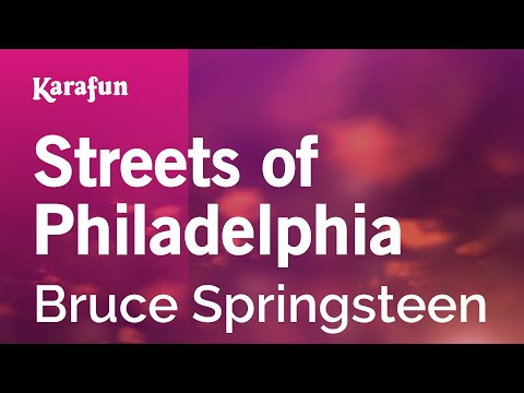 Bruce Springsteen - Streets Of Philadelphia </Body></Html> video
