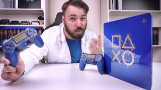 """Die neue PS4 SLIM - """"Days of Play"""" Limited Edition PlayStation 4 Konsole - Deutsch"""