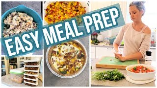 COOK WITH ME EASY MEAL PREP // SUNDAYS AT TIFFANI'S EPISODE 2