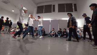 埼玉大学【アナクロニズム X】 vs 茨城大学【踊り屋さん】 / DANCE@LIVE 2017 RIZE KANTO CLIMAX