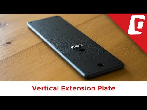 Play Video: Vertical Extension Plate for Two Devices