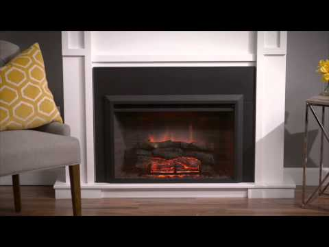 Gallery Collection Zero Clearance Electric Insert Fireplace by The Outdoor GreatRoom Company