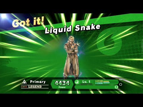 Super Smash Bros Ultimate - [Legend Spirit] Liquid Snake