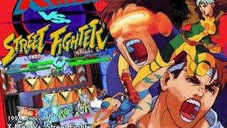Picture of a game: X-Men Vs. Street Fighter