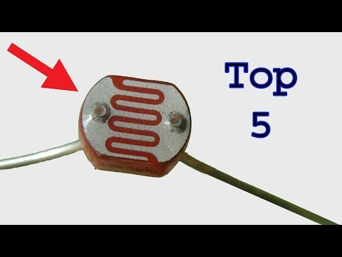 Top 5  useful LDR projects, very easy electronics diy projects