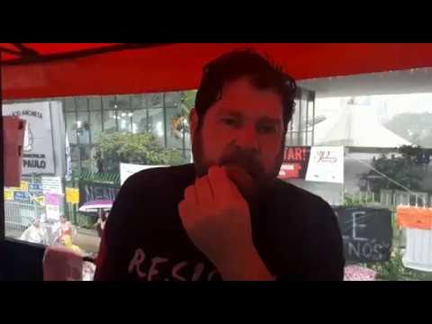 Sergio Antiqueira, presidente do Sindsep, fala sobre a assembleia e continuação da greve