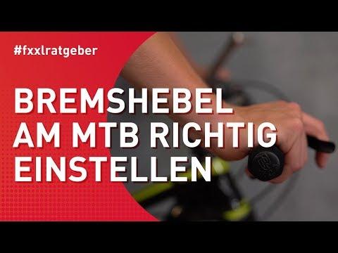 Bremshebel am Mountainbike richtig einstellen