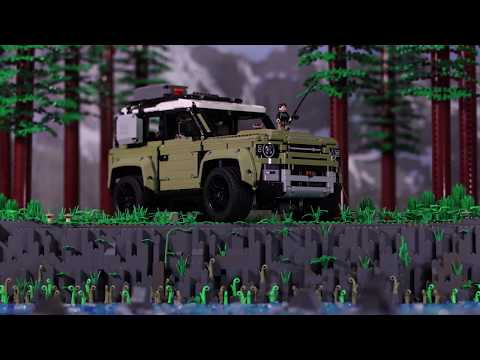Vidéo LEGO Technic 42110 : Land Rover Defender