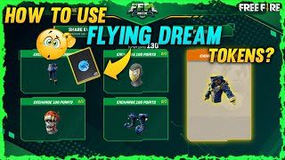 Flying Dream Tokens Free Fire 😮    How To Use Flying Dream Tokens    Ff New Event    Free Bundle