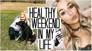 *Healthy* Weekend in my Life | stRIDE Meetings, Sunday Workouts, & Mall Trips
