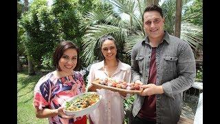 Youtube thumbnail for Kūmara And Mixed Bean Salad and Sweet Bliss Balls by Jay Wanakore and Sarah Chase