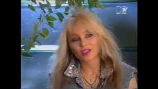 DORO Pesch - WARLOCK  - Talks about end of Warlock and her Solo career - Headbangers ball 1991 ,720p