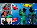 NINJA AND STREAMERS REACT TO *NEW* TOXIC TROOPER | Fortnite Funny and EPIC Moments #21
