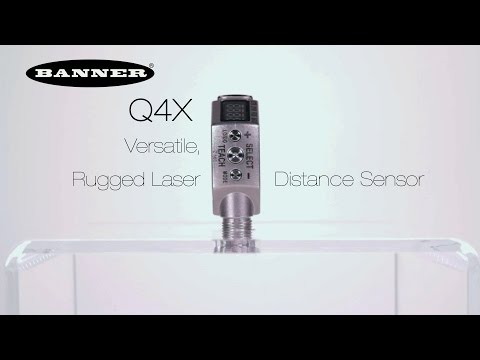 Versatile, Rugged Laser Distance Sensor