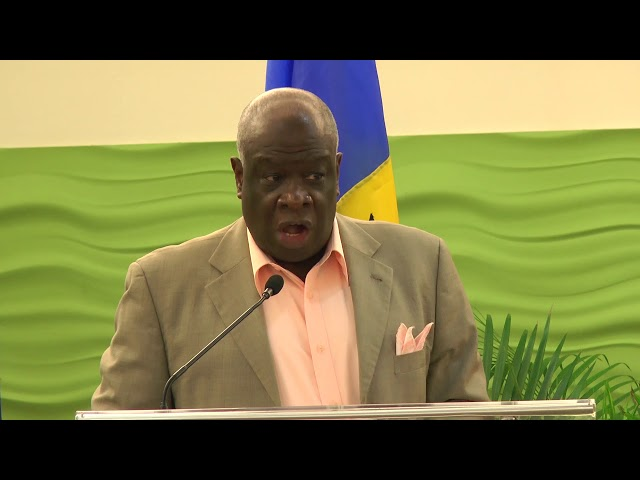 Chief Justice Sir Marston Gibson | Closing Ceremony - Practical Mediation Skills Training, Barbados