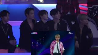 EXO Reactions to BTS 'DNA' [ MAMA 2017]