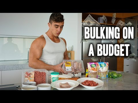 Best Bulking Meals on a Budget | Zac Perna