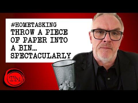 Hometasking: Hoďte papír do koše. Spektakulárně. - Taskmaster