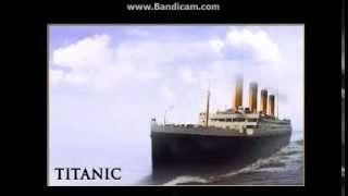 TITANIC BRITANNIC OLIMPIC-SIOSTRZANE STATKI