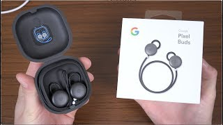 Google Pixel Buds Unboxing!